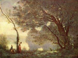 Corot, Souvenir de Mortefontaine, Louvre, 1864