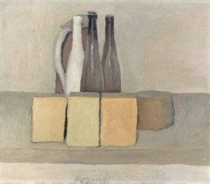 Morandi, Nature morte, 1956