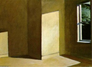 EdwardHopper-SuninanEmptyRoom_Private(1963)