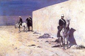 Fattori giovanni Les sentinelles 1871