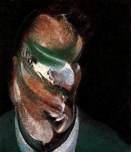 Francis Bacon , portrait Lucian Freud