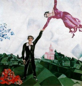 Chagall the-promenade-1918