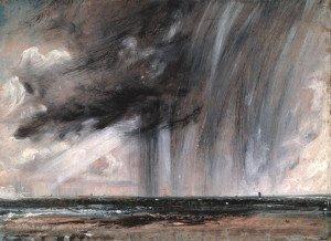 Constable, Etude de paysage de mer, Londres, 1824, 1828