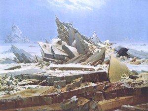 Friedrich Caspar David la mer de glace