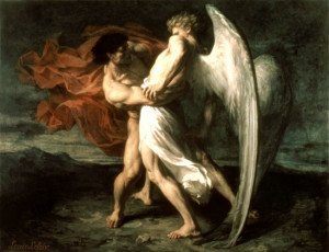 Alexandre Louis Leloir, Jacob Wrestling with the Angel